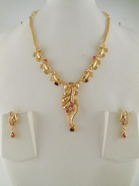 1gm gold jewelry necklace sets aloadofball Gallery