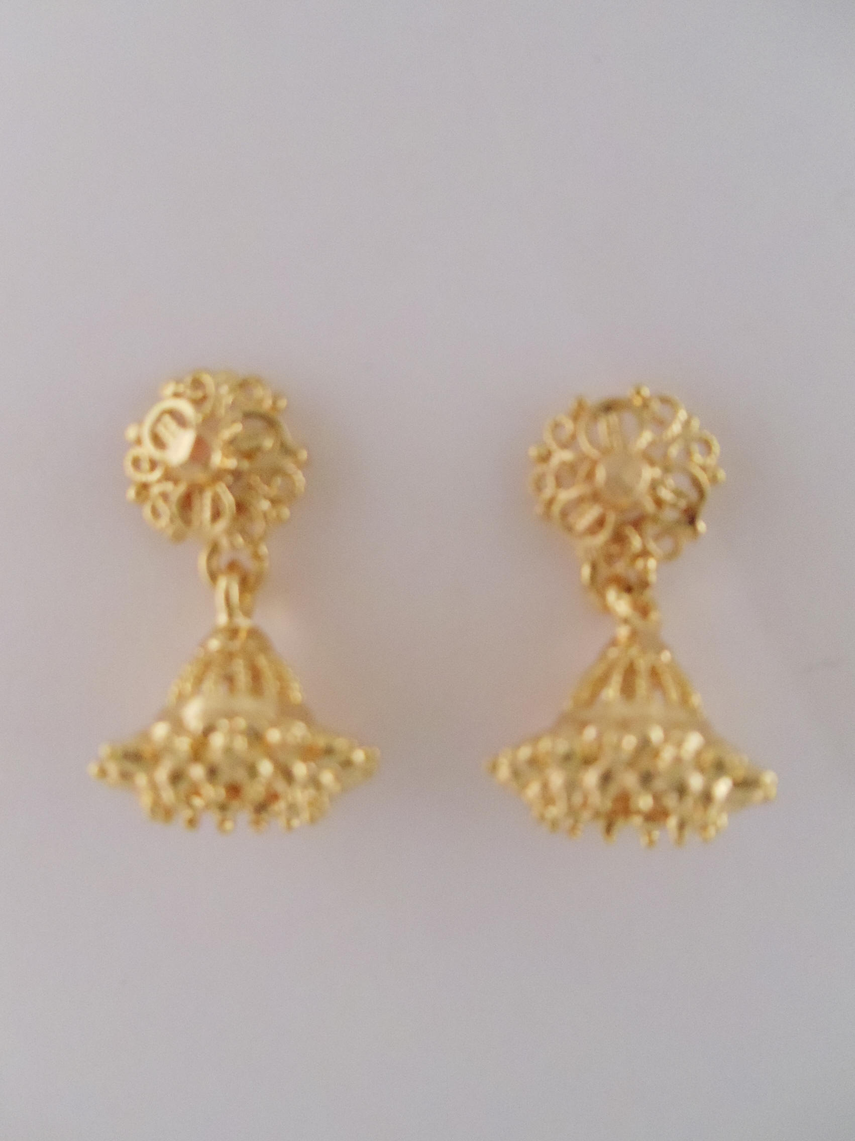 1gm Gold Earrings