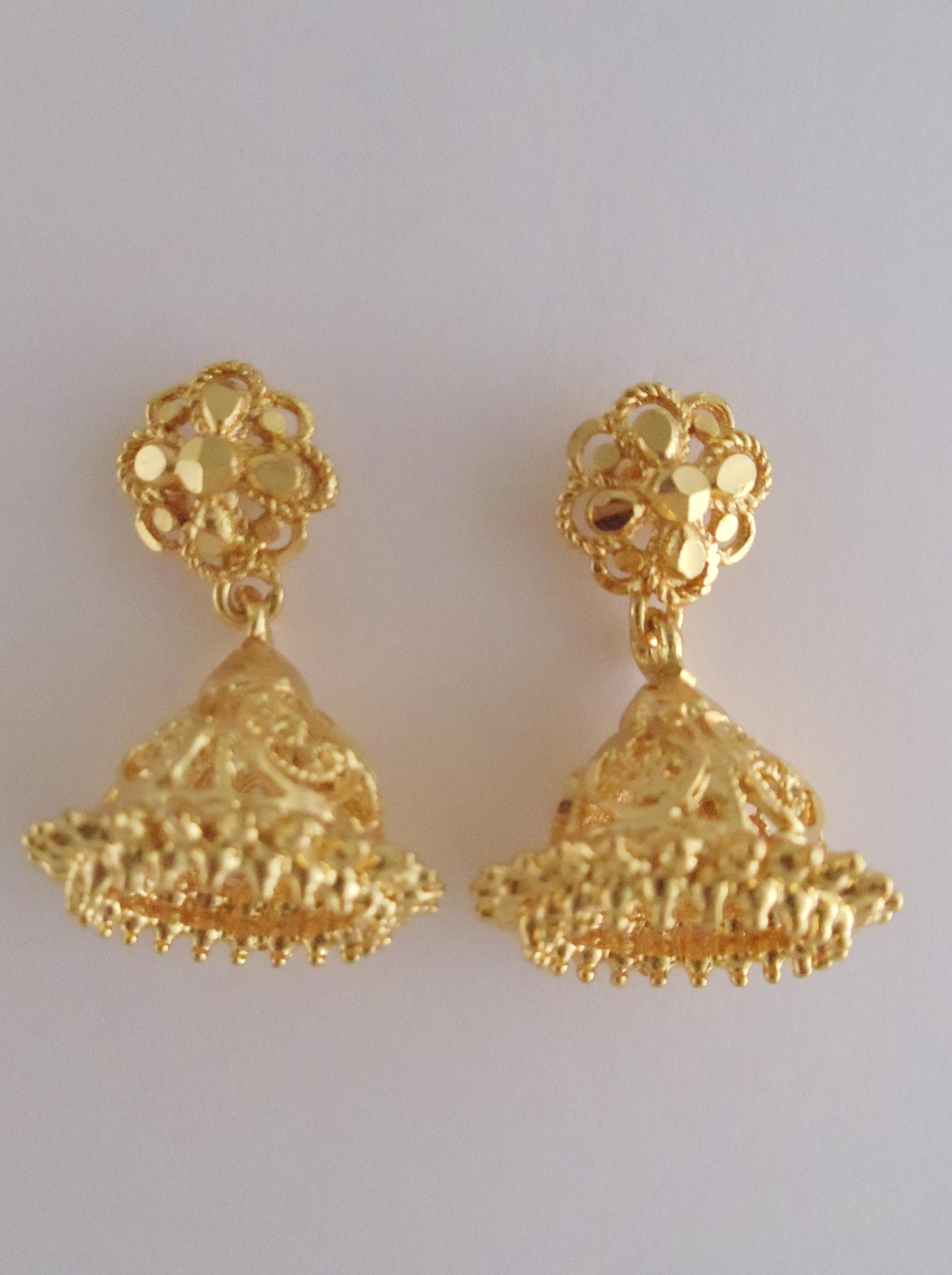 fashions jhumka kanchi gold product earrings