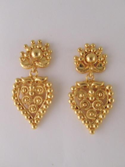 1gm Gold Earrings