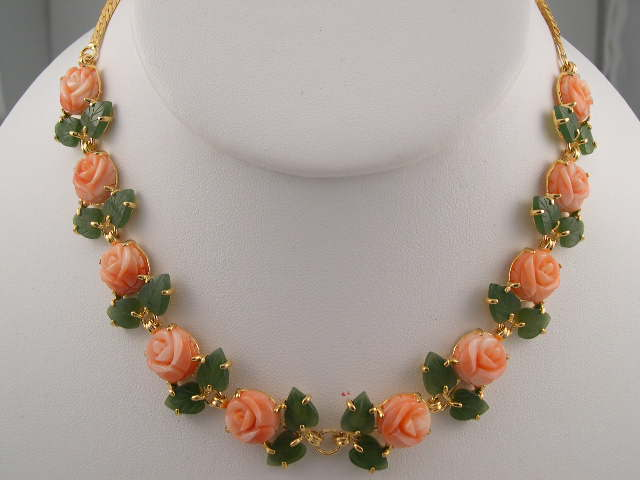 Pink Coral Jewelry Home Page