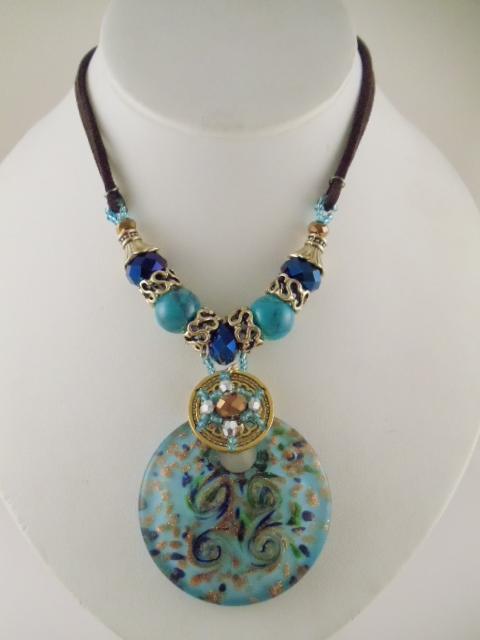 Fashion jewelry glass pendant sets aloadofball Choice Image