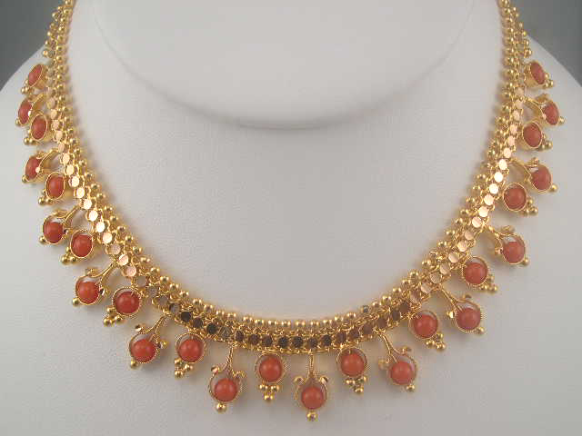 designs necklace online buy golden jaipuri designer runjhun beads mala jewellery designers zoom set