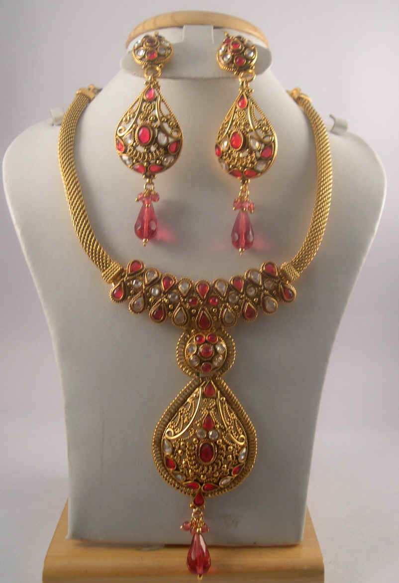 Antique jewelry necklace sets aloadofball Image collections