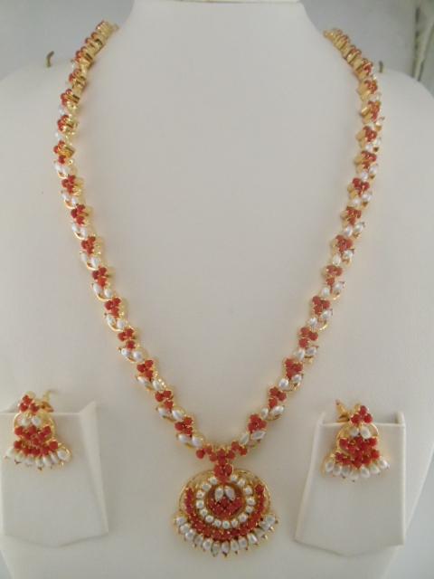 Indian Jewelry Gemstone Necklaces