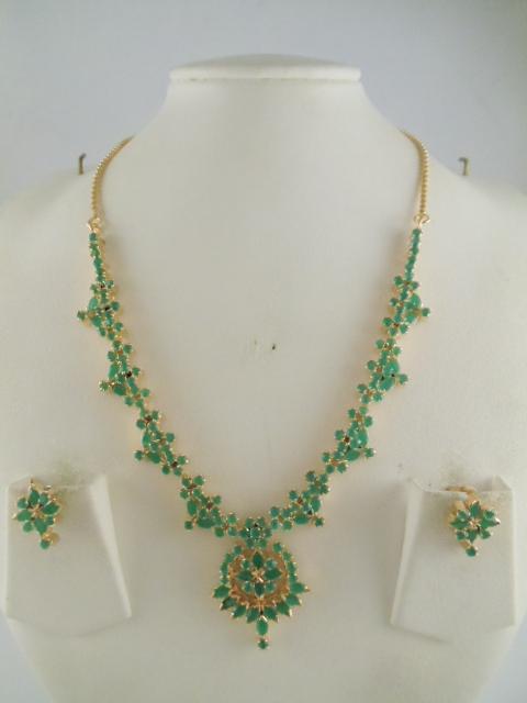 Indian Jewelry Amethyst Peridot Garnet Gemstone Necklaces