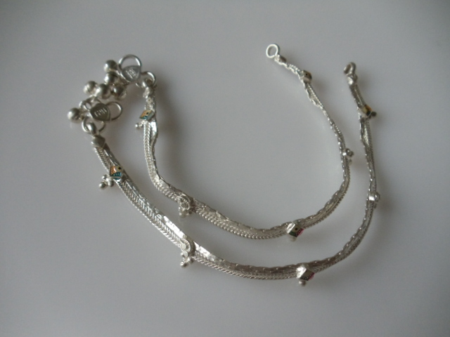 Pure Silver Anklets Silver Anklets Pure Silver