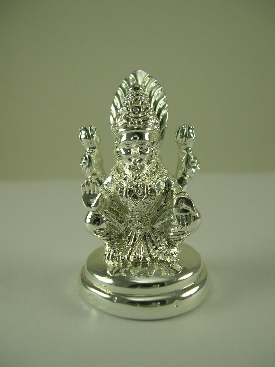 Pure Silver Idols Balaji Ganesh Lakshmi Etc